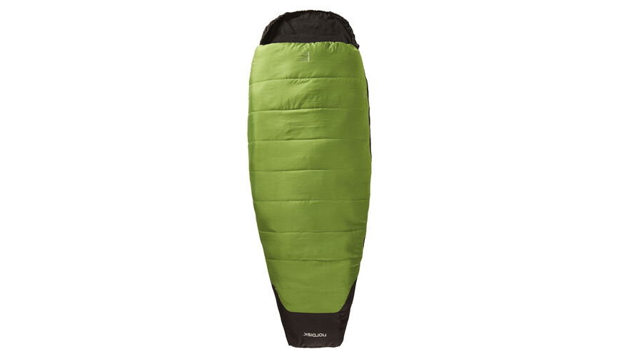 Nordisk Abel +10° Sleeping Bag L peridot green/black